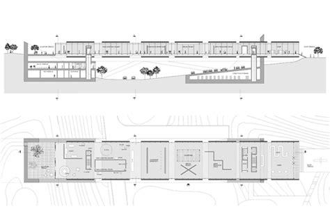 museum floor plan requirements nam june paik museum slab architecture pllc
