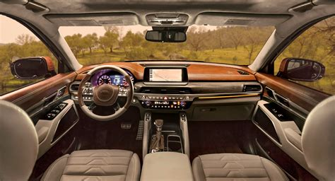 kia telluride luxury suv   concept