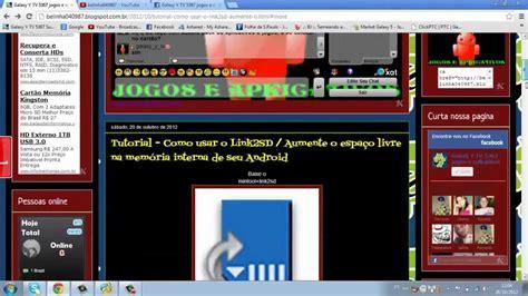 tutorial link2sd youtube como aumentar a mem 243 ria interna do seu android tutorial