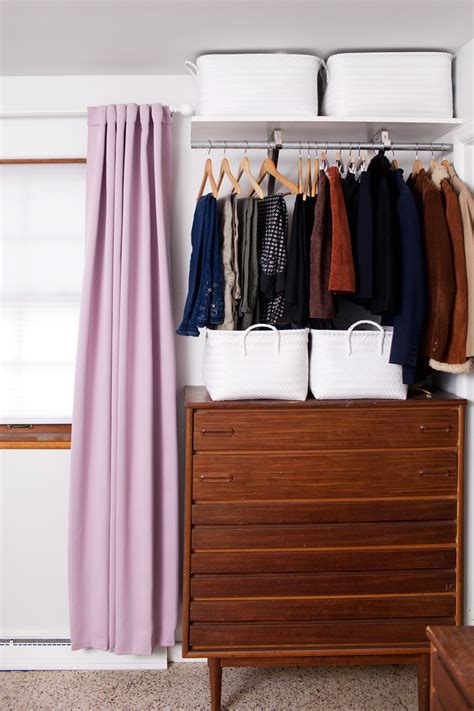 open clothes storage system diy creating an open closet system a beautiful mess