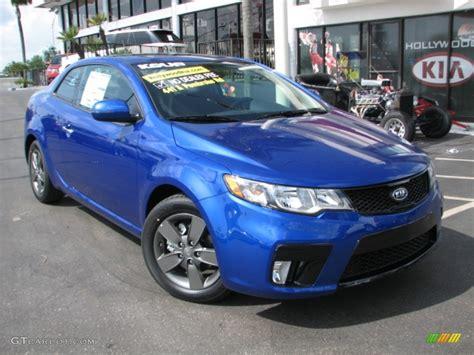corsa blue 2011 kia forte koup sx exterior photo 53401721