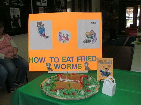 how to eat fried worms book report edible book festival