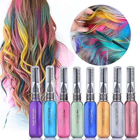 ms color hair color ms dear temporary hair color chalk 8 colors instantly