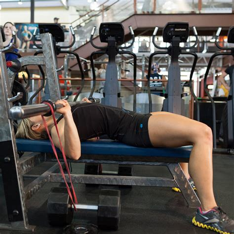 benching with bands bench press with short bands exercise guide and video