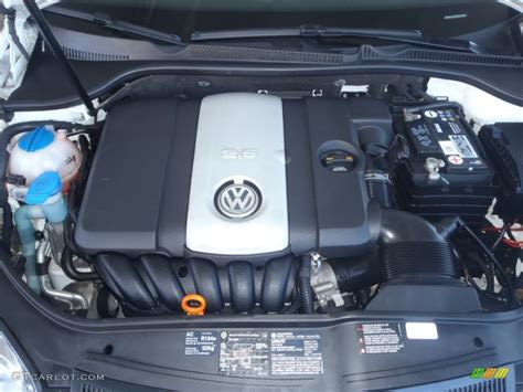 Volkswagen 2 5l Engine by 2007 Volkswagen Rabbit 4 Door 2 5l Dohc 20v Inline 5