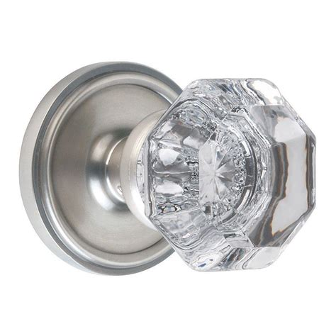 classic satin nickel waldorf privacy knob 703549