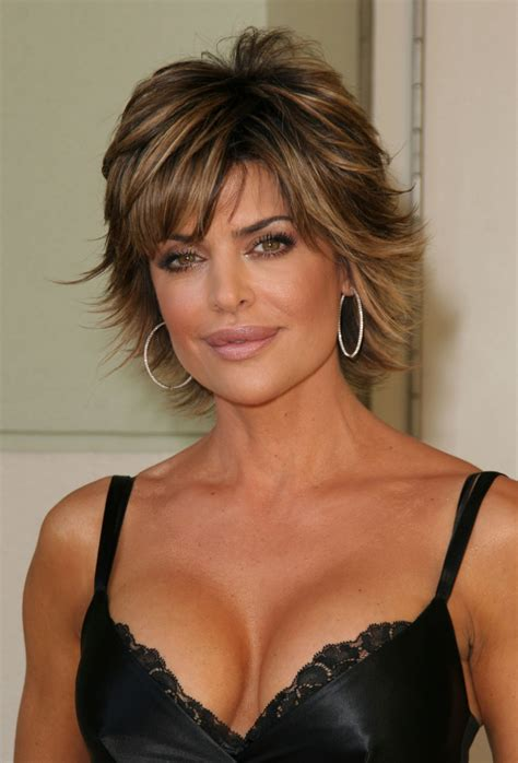 texture of rennas hair picture of lisa rinna