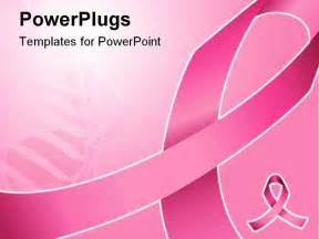Cancer Powerpoint Templates by Pink Ribbon Can Be Used For Background Breast Cancer