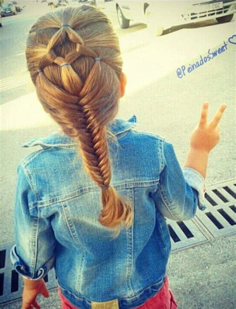 kids fishtail photo with hair added hair veil and fishtail braid kids hairstyles pinterest