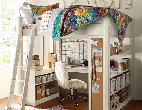 pottery barn teen loft bed 42 best images about desk ideas on pinterest modern desk