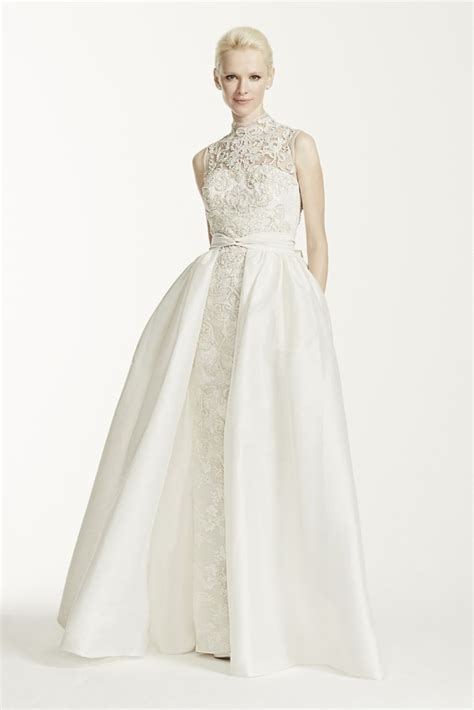 Aline Button Dress keep up with the kardashians with a high neck wedding dress everafterguide