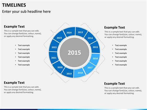 Best Circular Diagrams Templates For Presentations Circular Timeline Template