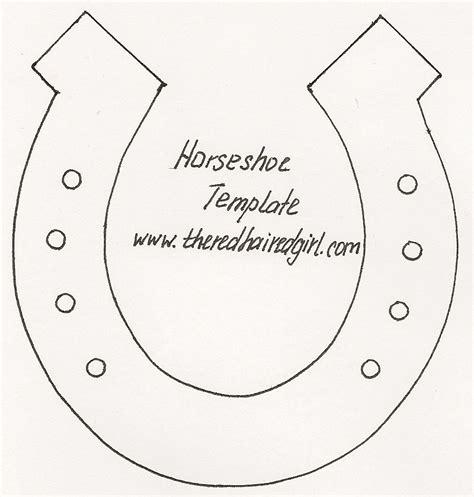 horseshoe template image gallery horseshoe template pattern