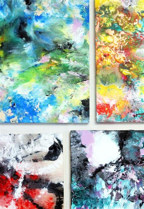 difference between and acrylic paint on canvas 42 simple acrylic canvas painting ideas for beginners