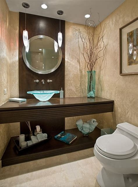Contemporary Bathroom Decorating Ideas | guest bathroom powder room design ideas 20 photos