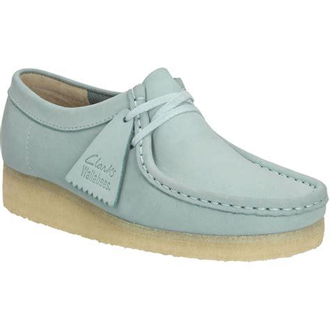 wallabees shoes clarks originals s wallabee shoes light blue
