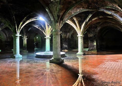 Interior Photography by Cistern Portuguese El Jadida Morocco By Agelisgeo On