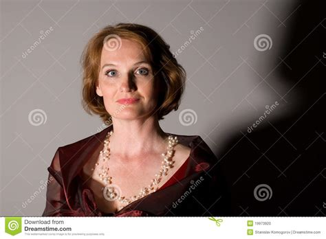 middleage woman fun an attractive middle aged woman stock photo image of