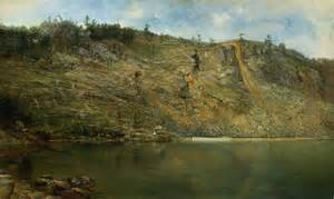 Homer Dodge Martin Paintings File The Iron Mine Homer Dodge Martin Smithsonian