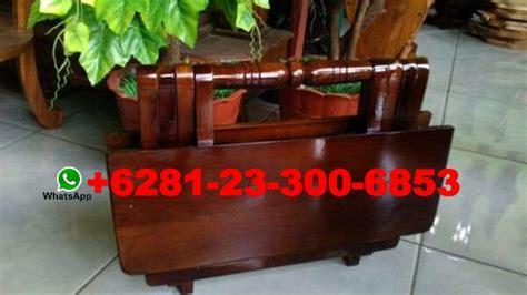 Meja Lipat Setrika meja lipat kayu murah samarinda meja laptop lipat kayu