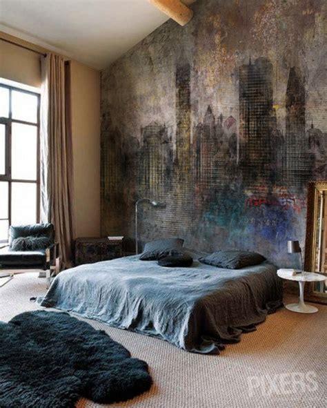 Grunge Bedroom | grunge wall mural inspirations pixersize com