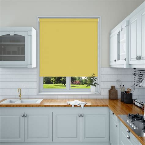 kitchen blinds ideas uk the 25 best ideas about yellow roller blinds on pinterest