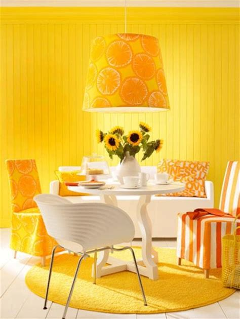 yellow color combinations design decoration luminous interior design ideas and shining yellow color
