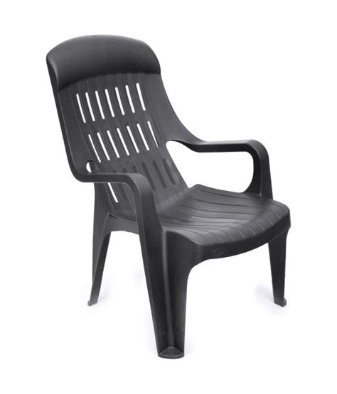Nilkamal Weekender Garden Chair by Nilkamal Weekender Garden Chair Iron Black Buy At