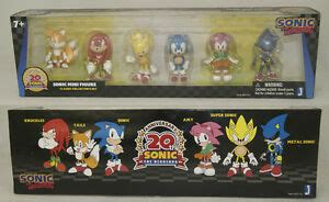 knuckles tails sonic amy super sonic metal sonic pvc