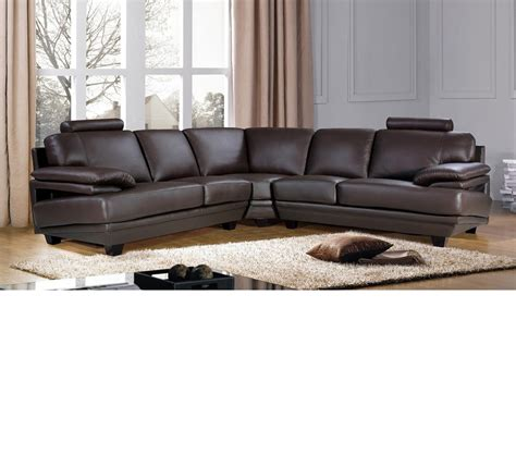 baron sectional living room set 1 ottoman furnituredfo com dreamfurniture com baron leather sectional sofa with