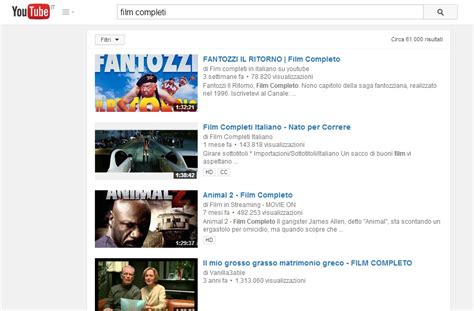film gratis completi in italiano su youtube youtube come vedere film gratis in italiano blitz