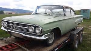 Chevrolet Biscayne For Sale 1960 Chevrolet Biscayne For Sale Eureka Montana