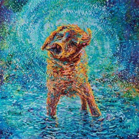 Colorful Bathroom Decor dogs canvas art icanvas