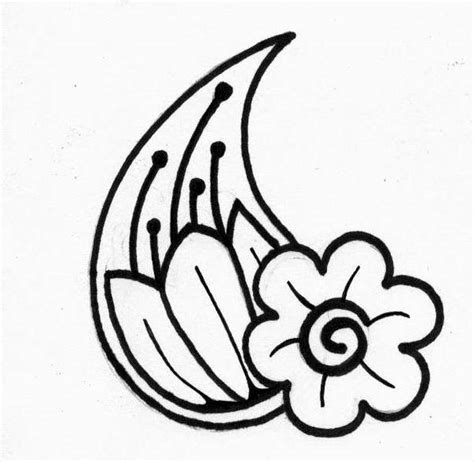 printable henna tattoo designs free coloring pages of henna flowers