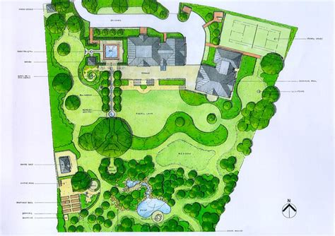 acres wild masterplan lovely assortment of lawns masterplan of large surrey country garden by acres