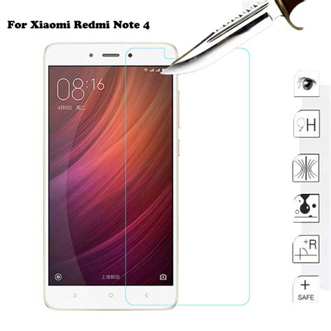 Tempered Glass Xiaomi Redmi Note 4 xiaomi redmi note 4 tempered glass original 11street malaysia screen protector