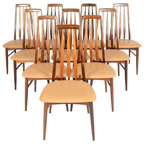 Dining Chairs High Back Set Of Ten High Back Rosewood Dining Chairs For Sale At 1stdibs