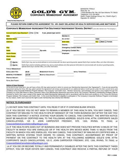 membership agreement template 5 best images of membership receipt template