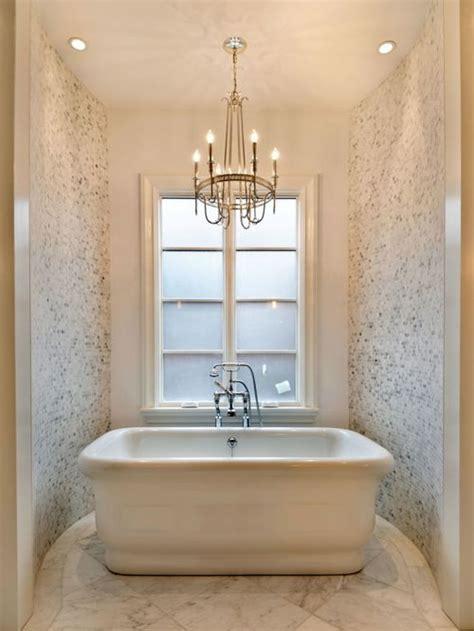 chandelier over bathtub bathtub chandelier houzz