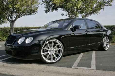 2017 bentley flying spur on rims find used 2006 bentley flying spur sedan custom wheels