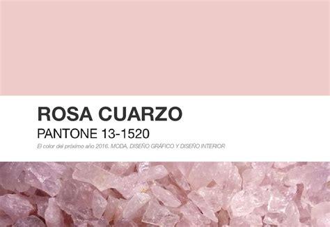 Interior Home Color by Color Pantone 2016 Rosa Cuarzo Color Del A 241 O 2016