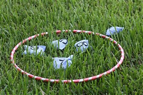 throwing beanbags into hoops put teaching athletics put throw ks1 ks2