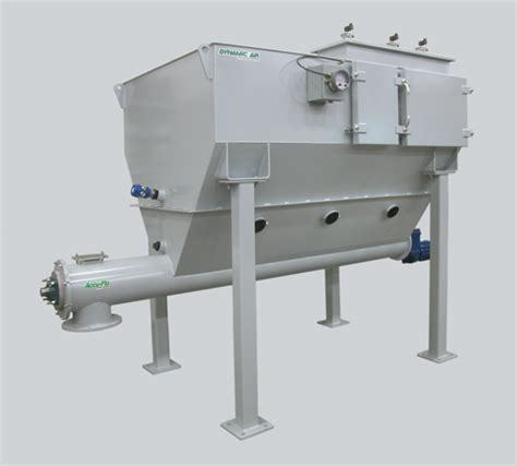 dynamic air components accu flo screw feeder with hopper