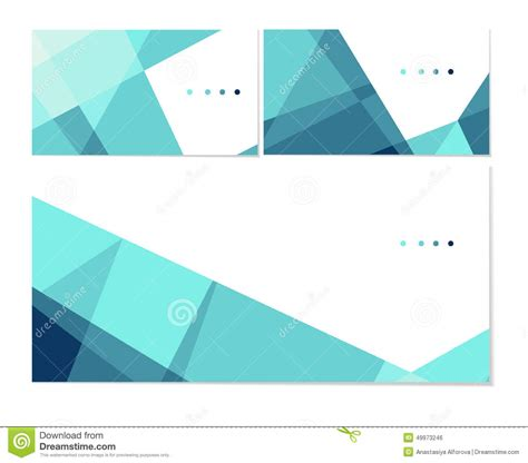 business card envelope template vector polygonal template stock vector image of edge