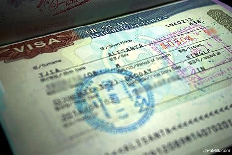 cara membuat visa kunjungan ke korea selatan cara mengurus visa korea sendiri