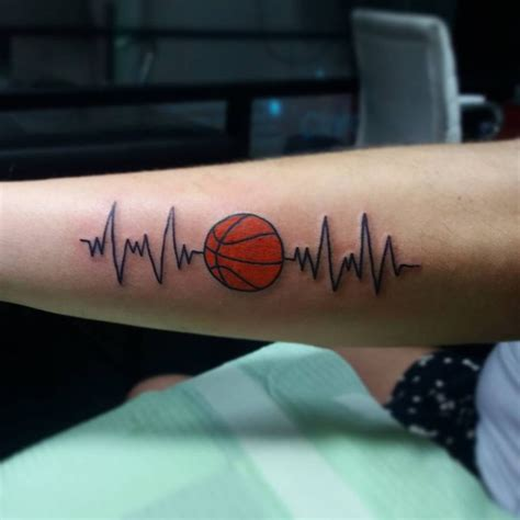 basketball wrist tattoos 1000 ideas about basketball tattoos on