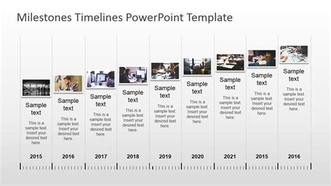 timeline template powerpoint powerpoint timeline with pictures slidemodel