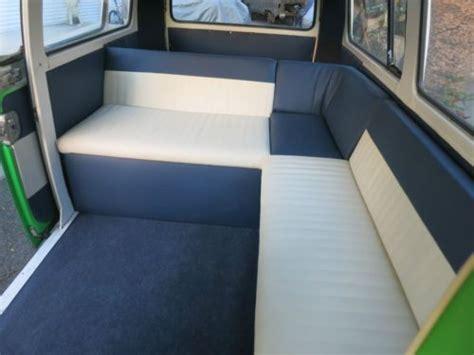 volkswagen van original interior sell used 1968 vw bus van kombi red carpet style great