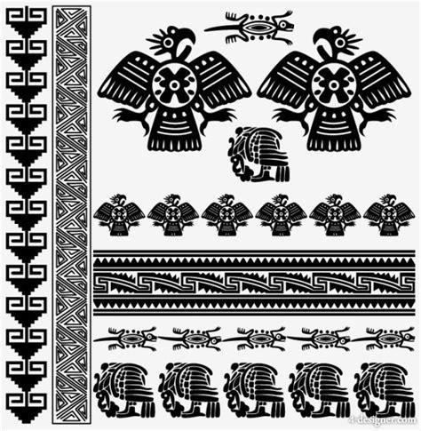 4 designer egyptian style pattern 03 vector material