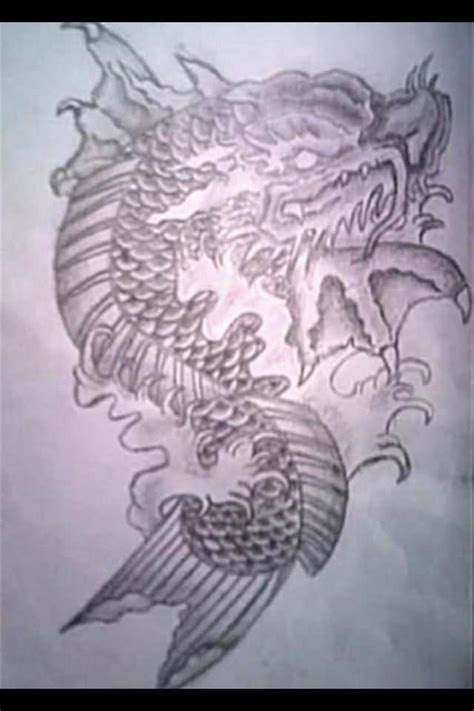 24 latest dragon fish tattoo designs 24 latest dragon fish tattoo designs
